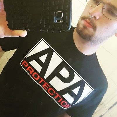 APA Protection Agency Ron Simmons JBL Mens T-shirt