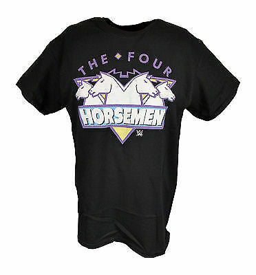 The Four Horsemen WCW Mens Black T-shirt