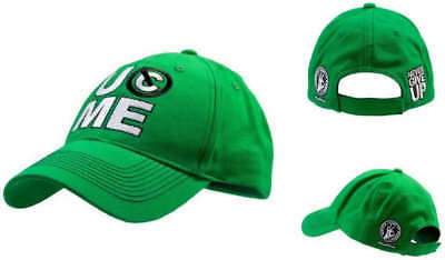 JOHN CENA Salute the Cenation Green Baseball Cap Hat New