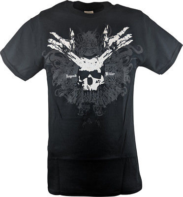 Randy Orton RKO White Skull Mens T-shirt