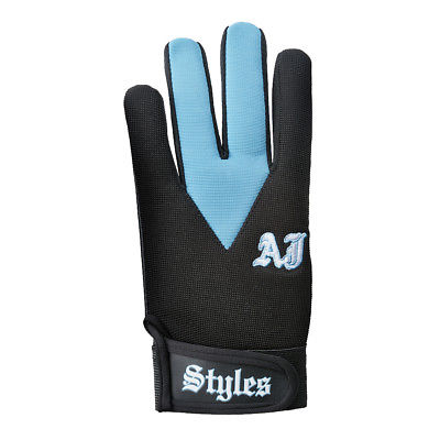 AJ Styles P1 Logo Carolina Blue Replica Fight Gloves