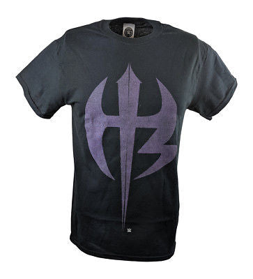 Jeff Matt Hardy Boyz Purple Logo WWE Mens T-shirt