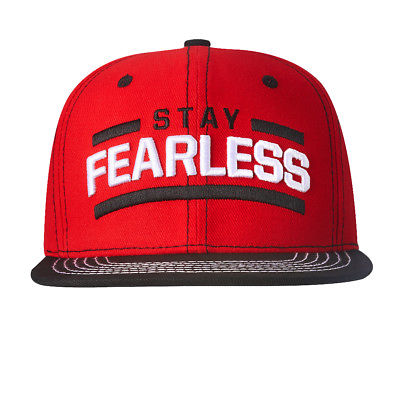 Nikki Bella Stay Fearless Black Brim Snapback WWE Baseball Cap Hat