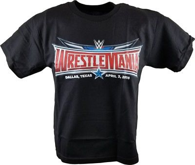 Wrestlemania 32 Logo WWE T-shirt Boys Kids