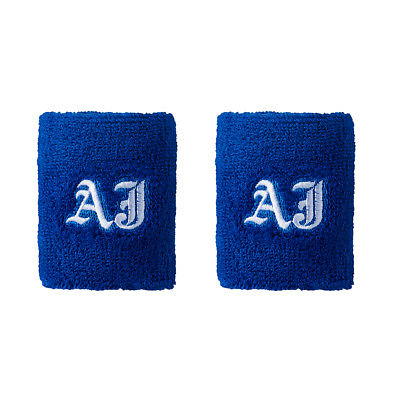 AJ Styles WWE Authentic Logo Wristbands Set of 2 New