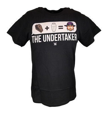 Undertaker Deadman Emoji Logo Mens WWE T-shirt