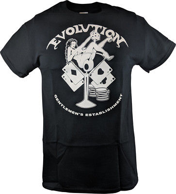 Evolution Pay to Play T-shirt Randy Orton Batista Triple H Ric Flair