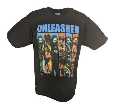 WWE Unleashed Boys Mens T-shirt Elias Balor Reigns Rollins