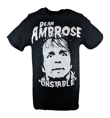 Dean Ambrose The Unstable One Mens Black T-shirt