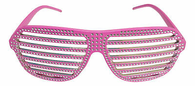 Glitter Party Shutter Shades for Macho Man Costume
