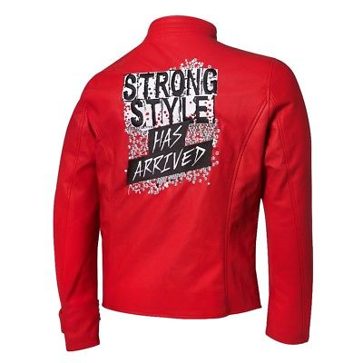 Shinsuke Nakamura Strong Style Has Arrived WWE Authentic Mens Replica Jacket