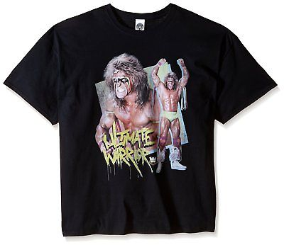 Ultimate Warrior Victory Pose WWE Mens T-shirt