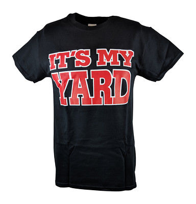 Undertaker It's My Yard No Trespassing Mens Black T-shirt