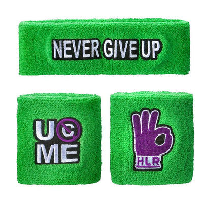 John Cena WWE Headband Wristband Sweatband Set