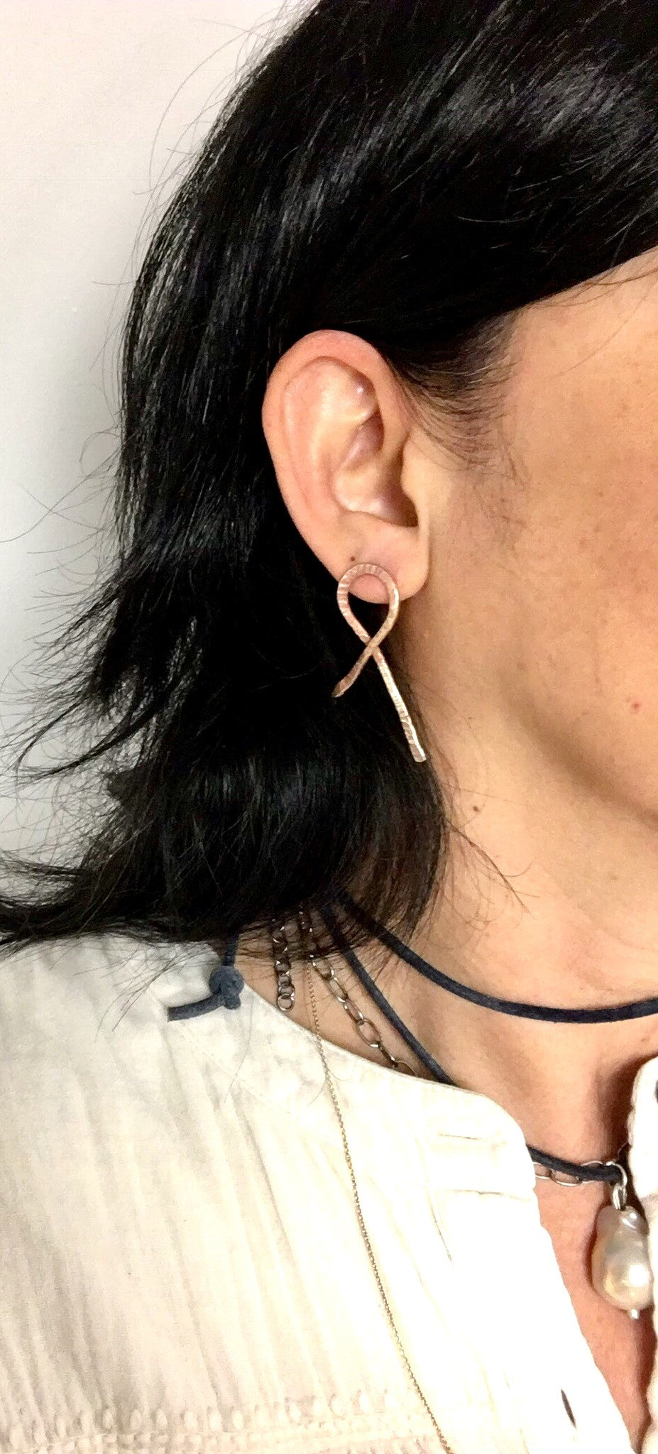 workshop / intro to working with metals + making HOOP or RIBBON EARRINGS