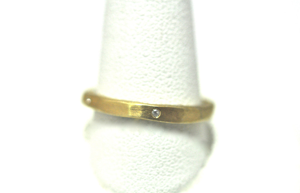 ring / band 2MM + gemstones