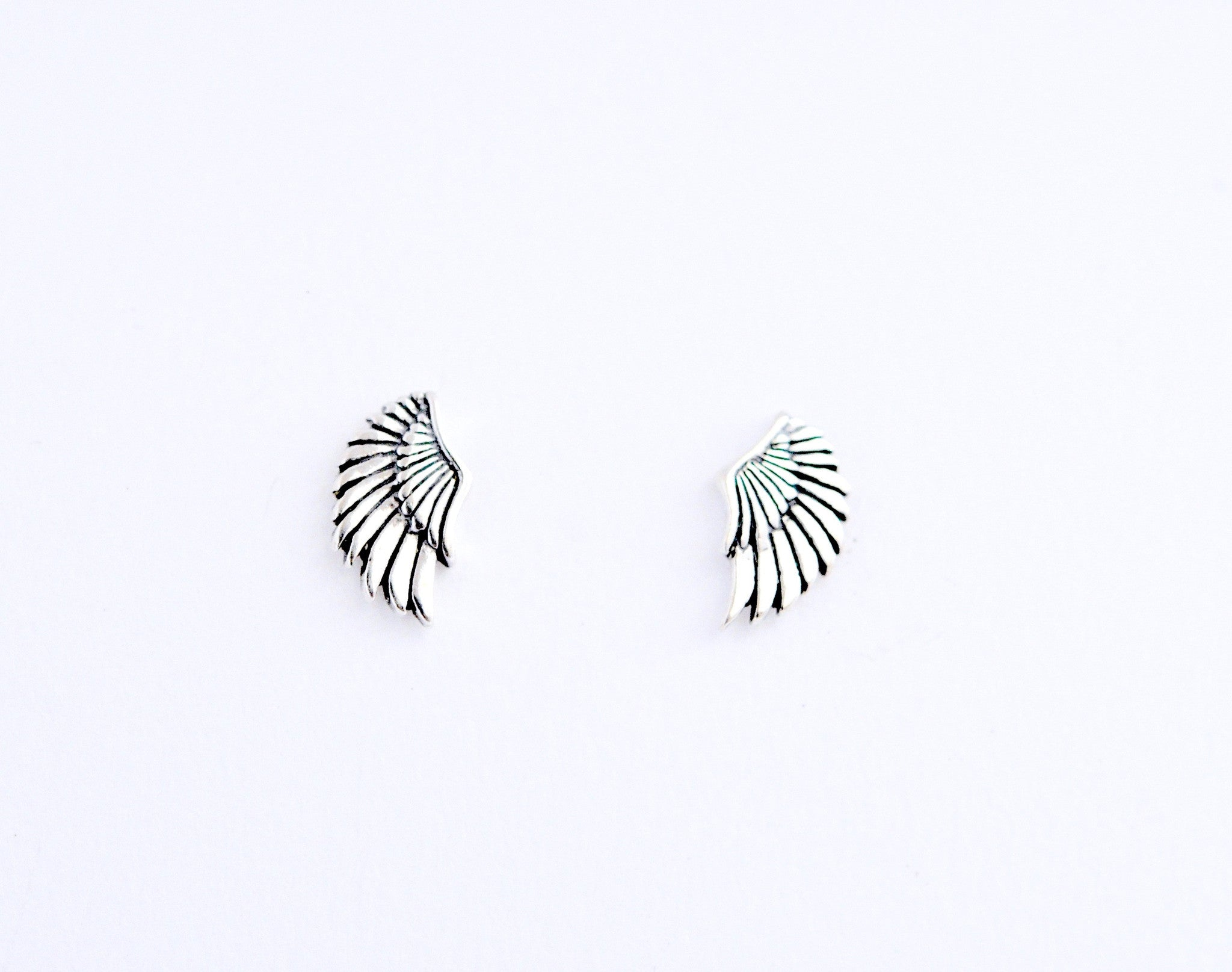 earrings / studs WINGS pair
