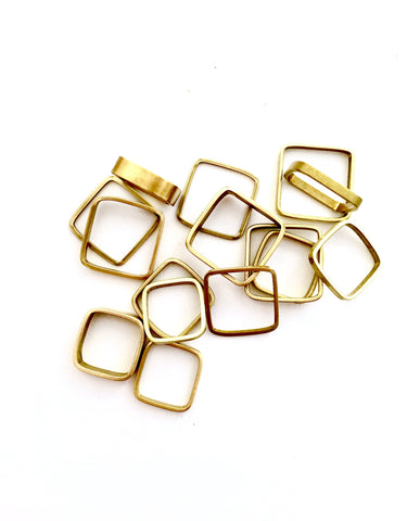 ring / bands unisex SQUARE