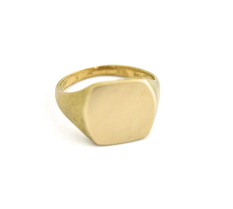 ring / signet ring SIMPLE SQUARE