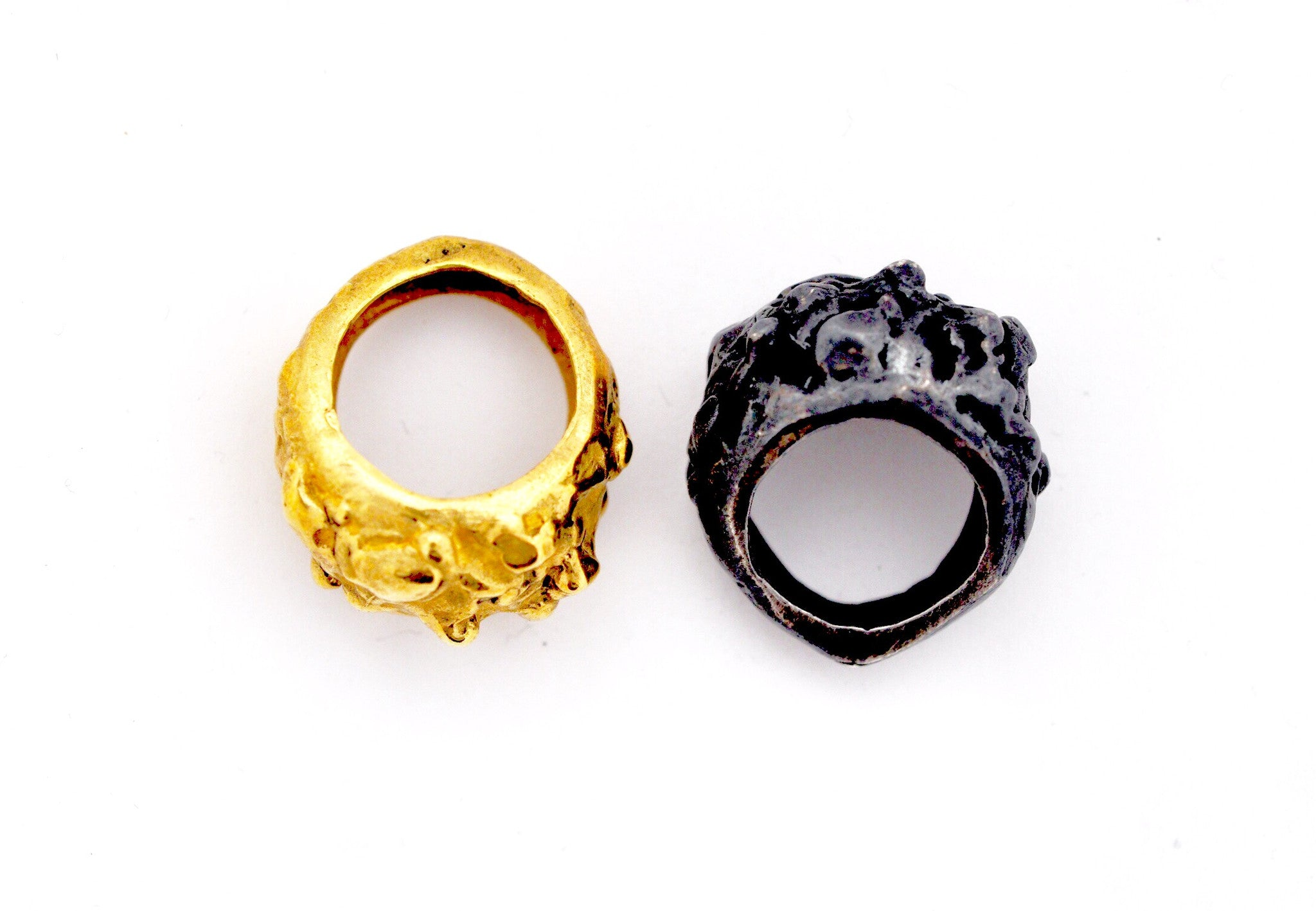 ring / ring LARGE CRYSTALLINE ROUGH