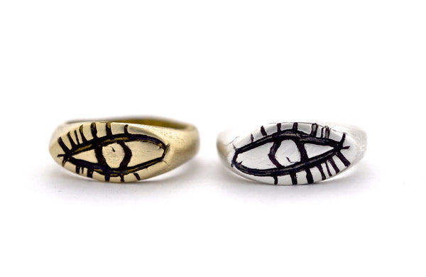 ring / signet ring EYE