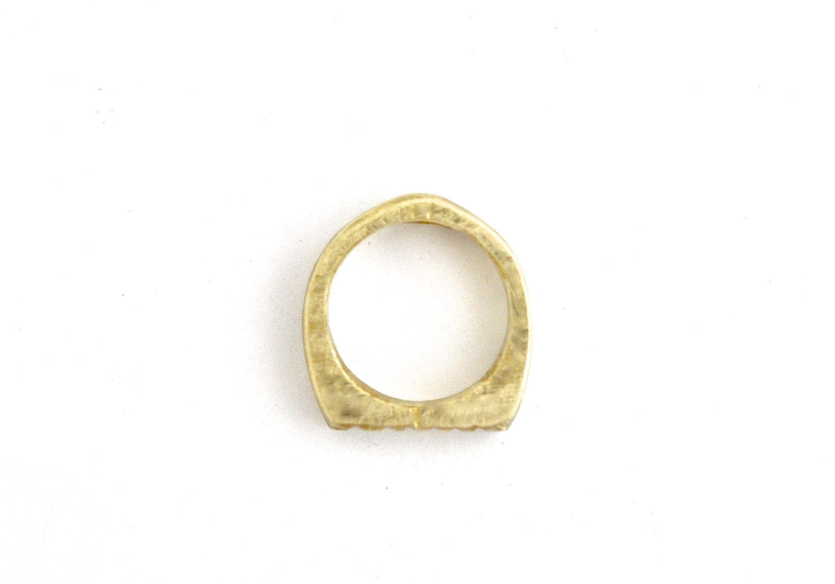 ring / signet ring CROSS HATCH