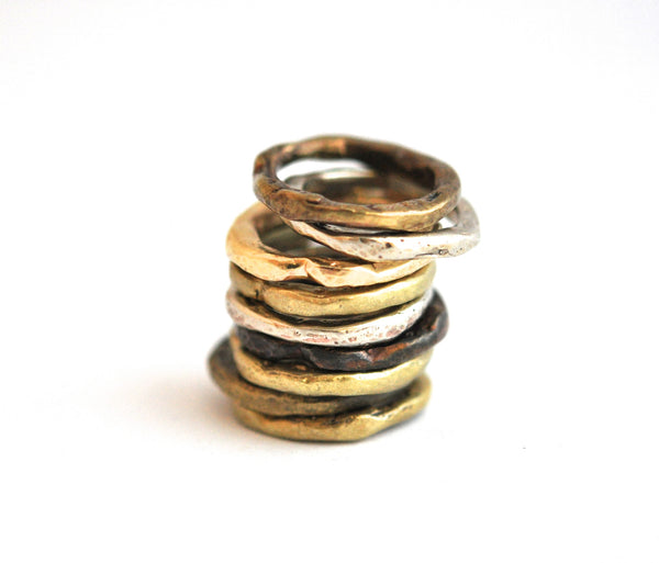 ring / bands unisex BONE