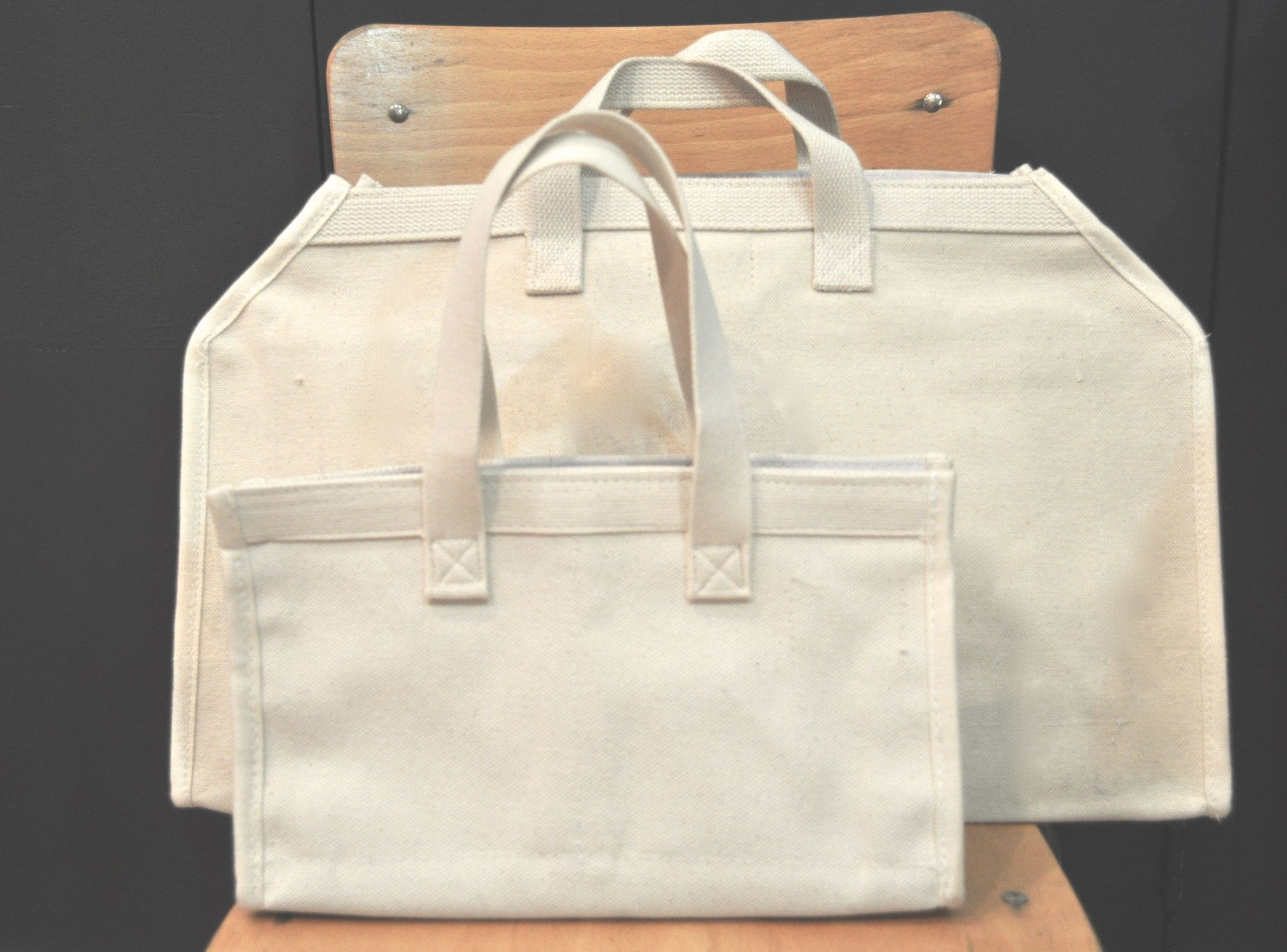 tools / heavy duty utilitarian canvas tote bag SMALL