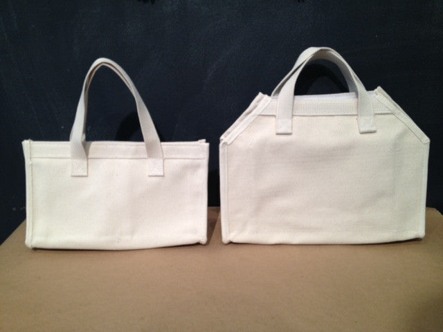 tools / heavy duty utilitarian canvas tote bag