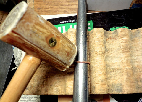 tools / leather mallet