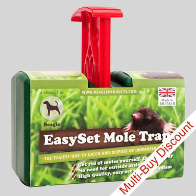 Beagle easy set Mole Trap