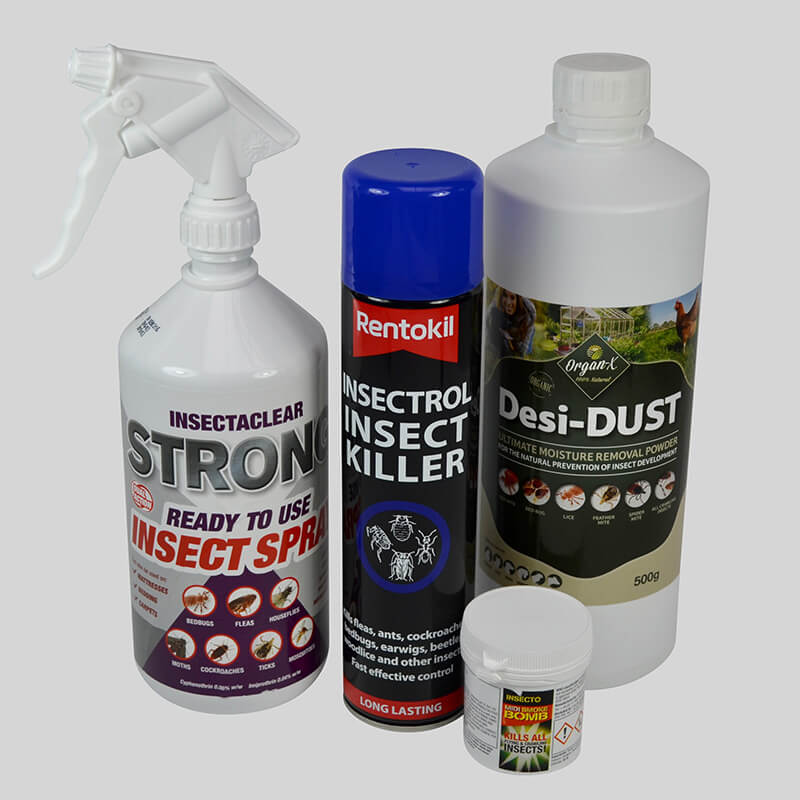 Bed Bug Control Kit includes everything you need  to kill bed bugs