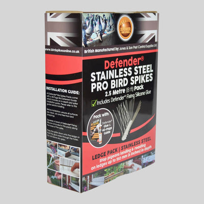 Stainless Steel Pro Bird Spikes Pack