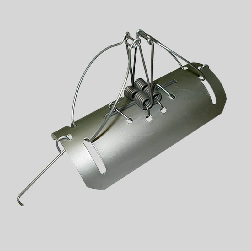 barrel type mole trap
