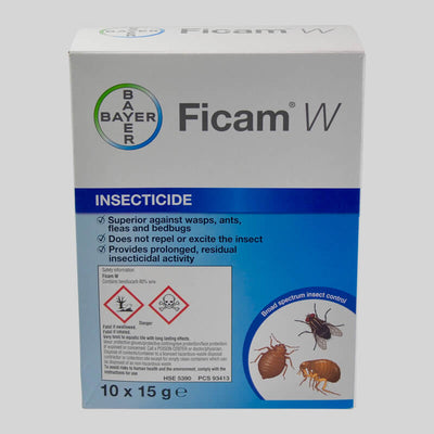 Ficam W Wettable Powder superior against wasps, ants and bedbugs