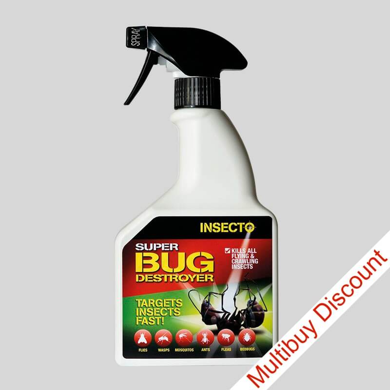 Super Bug Destroyer insect killer spray