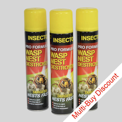 Insecto Wasp Nest Destroyer Aerosol Spray