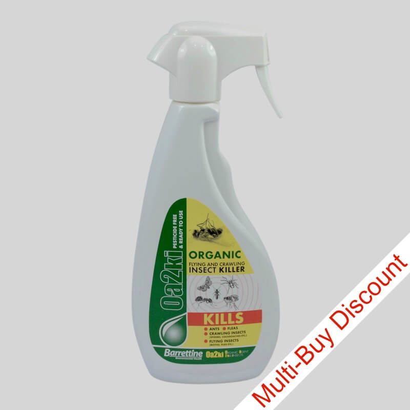 Oa2ki Organic Insect Spray 500ml