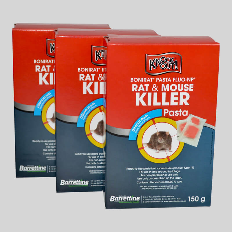 Knockout Rat & Mouse Killer Pasta