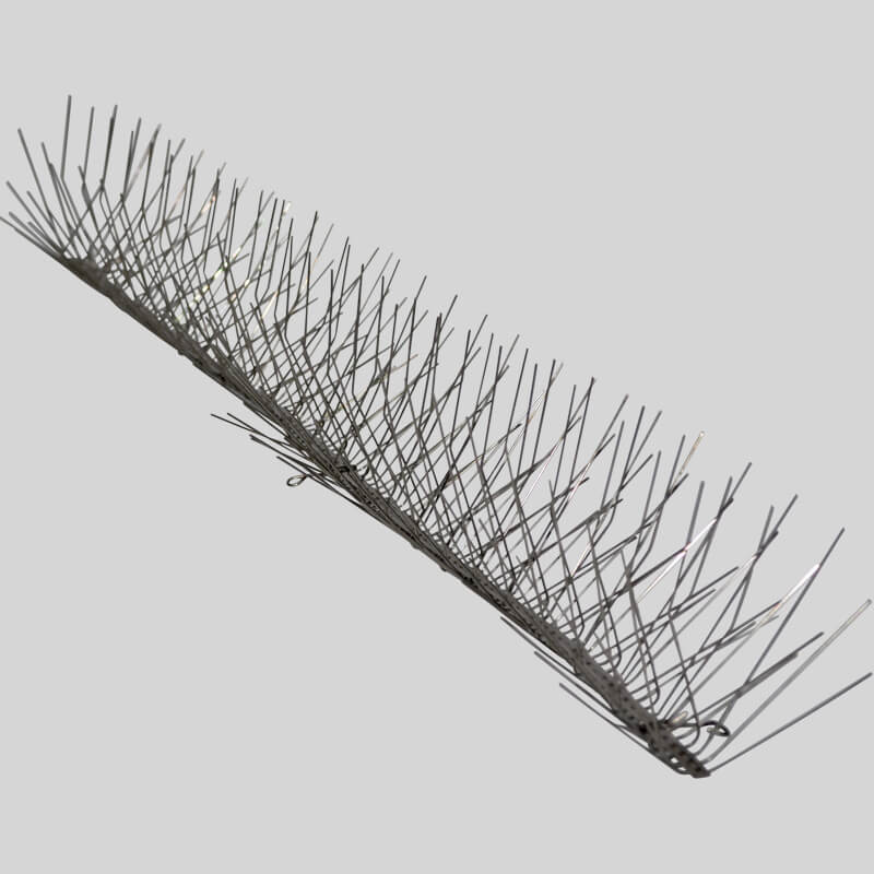 Bird spikes for starlings and sparrows