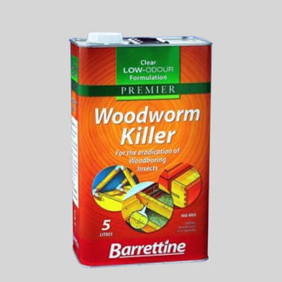 Woodworm Killer Fluid 5ltrs