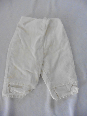 New LITTLE DARLINGS baby girls cream trousers 3-6m