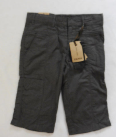 new IKKS boys khaki green long shorts 8y