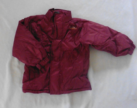 New DUCKY BEAU maroon winter coat 86 18m-2.5y