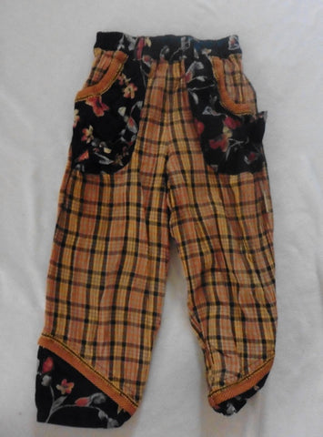 Vintage TOFF TOGS trousers fit 6y plus