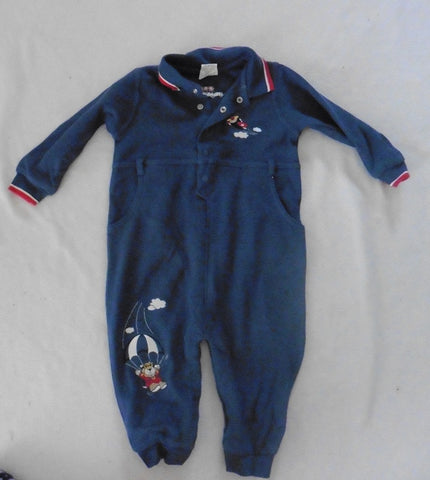 New HEALTHTEX blue romper 12m plus