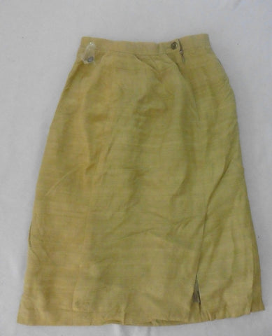NEW EMMA MEYER gold-green skirt 10