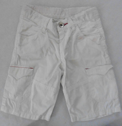 New LEVIS white boys shorts 3-4y