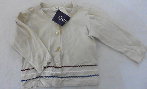 New QUINCY lightweight cardigan or top 6m
