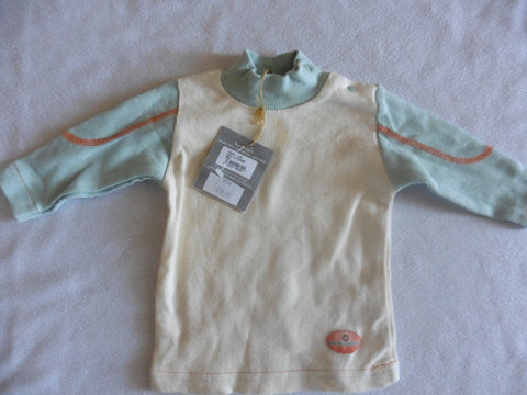 New BERLINGOT french designer boys top 6m clearance